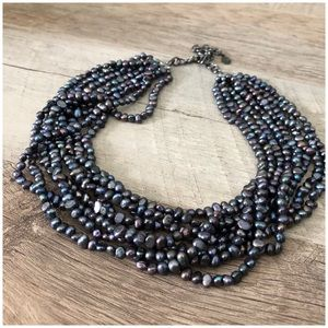 JS Collections Multi-Strand Necklace